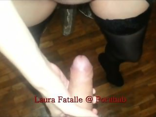 Teen gives first blowjob to her step brother dont tell daddy - LauraFatalle