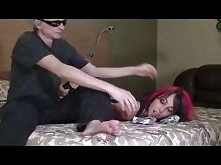 RED-HAIRED BITCH FOOTLICKER