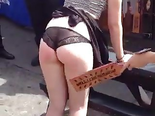 Amateur Humiliation & Punishment on University Streetfair #2