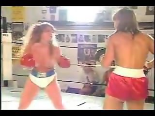 Topless boxing with Raven plus 1 match