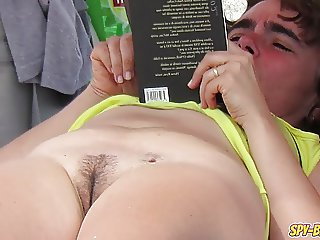 Hot MILF Have Sex on The Beach - Amateur Nudist Voyeur MILFs