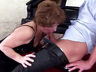 Mature step mothers make pissing massage and more