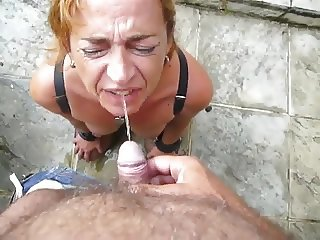 mouth piss