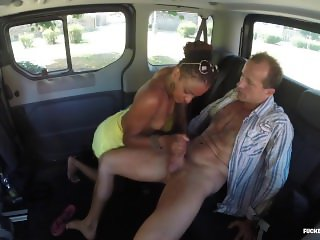 FuckedInTraffic - Chocolate hot babe Carol Marf gets fucked hard in the car