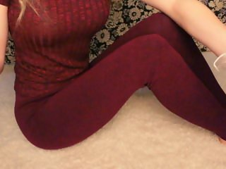 BlueWhisper ASMR - Touching and Scratching Leggings