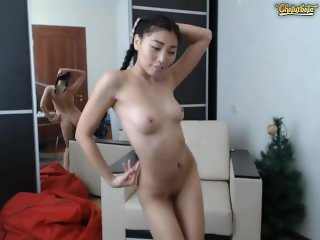 Sexy Japanese Plays with Herself