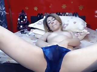 Satin Panty Squirt
