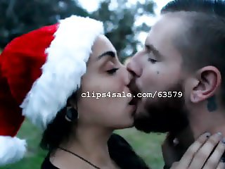 Dave and Lizzy Kissing Video 5 - Happy Holidays