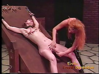 Skinny brunette playgirl is down for some hardcore spanking