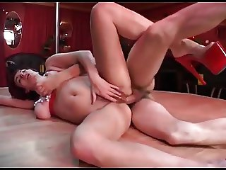 Amazin busty russian mature anal fuck and cum in mouth