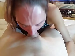 BROTHER CUMS DOWN NOT HIS SISTER'S THROAT
