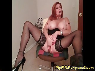My MILF exposed real amateur wife getting kinky at home