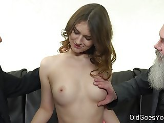 Old Goes Young - Two old men talk babe