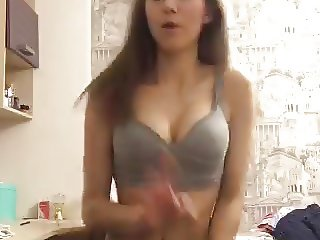 Hot Girl on Periscope Dancing and Stripping