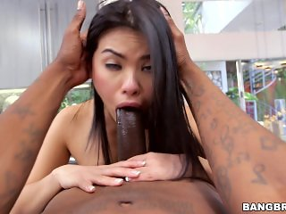 Cindy Starfall Monster Cock Action