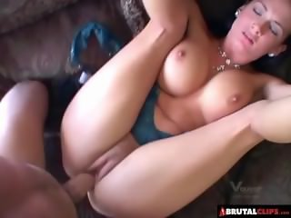 BrutalClips  Anal Creampie for Isis Love