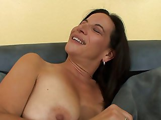 Hot ass babe sits on her lesbian lover's face with her moist cunt