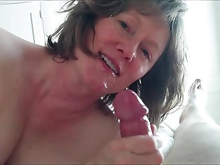 Cum on face!