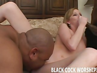 Two black hunks will violate me while you watch