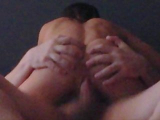 Riding his friend to make him cum