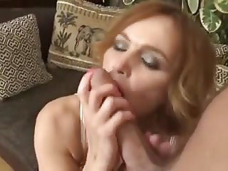 Mommy has fun with her young lover