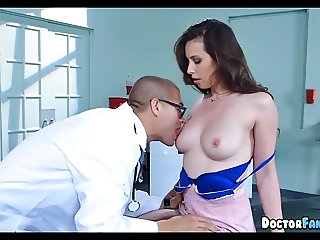 Brunette gets a Physical by Her Doctor