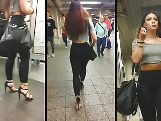 Candid Leather (Subway Slut)