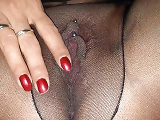 My Gapping pussy Upskirt in Pantyhose