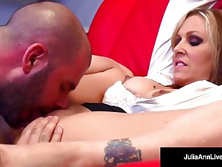 Julia Ann is a HOT Tutor who sucks & fucks a student silly!