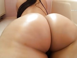 fantastic Asian ass and pussy