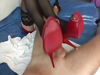 red shoejob