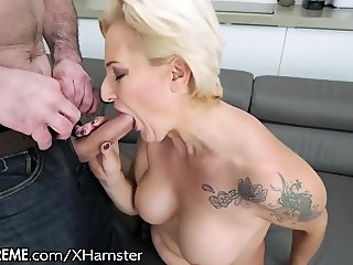 21Sextreme Hot Cougar GILF takes Young Dick