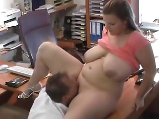 Thick German PAWG Fucked In The Office
