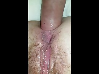 Amateur anal with the wife. After party