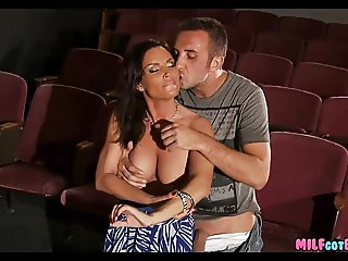 Movie theater MILF