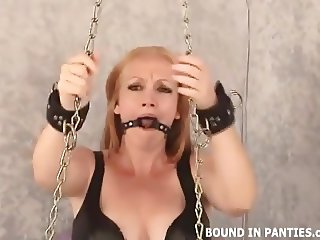 Someone chained me to the wall and gagged me