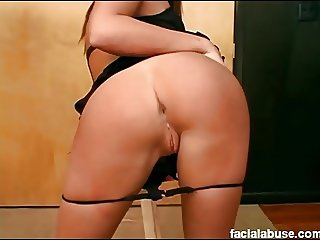 Gorgeous Shawna Lenee roughed hard in early porn days