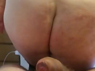 My BBW wife performs for another punter - Part 4