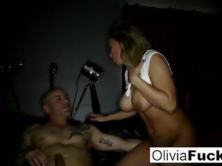 Busty Olivia gets a rough fuck to remember