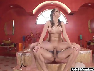 AdultMemberZone - Jaelyn has her dirtiest sex in the shower
