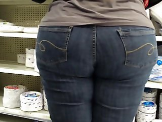 BBW White Girl's Big Ass and Wide Hips!