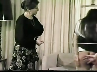 Classic spanked and caned