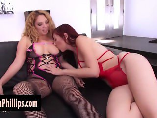 Kiki Daire Plays with Lauren Phillips Sweet Pussy!