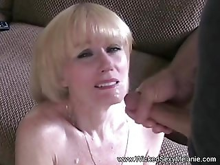 Deep Blowjob From My Horny GILF