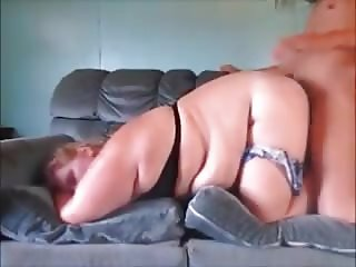 Fat Daughter gets Fucked like a Pig