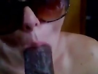 Teaching the art of giving BBC a good blowjob