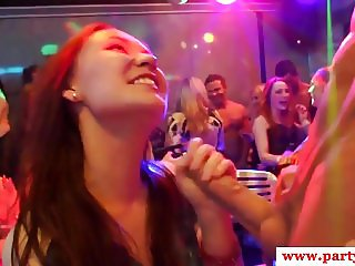 Amateur euro skanks cocksucking at sexparty