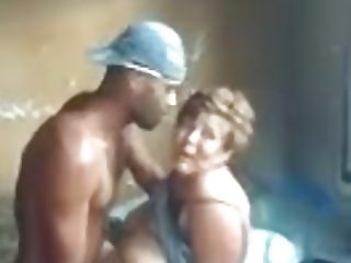 Brazilian mom with younger guy
