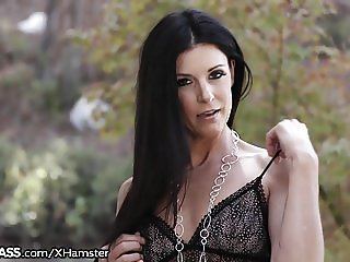 Natural MILF India Summer Sloppy Throating