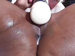 Squirting Ebony
